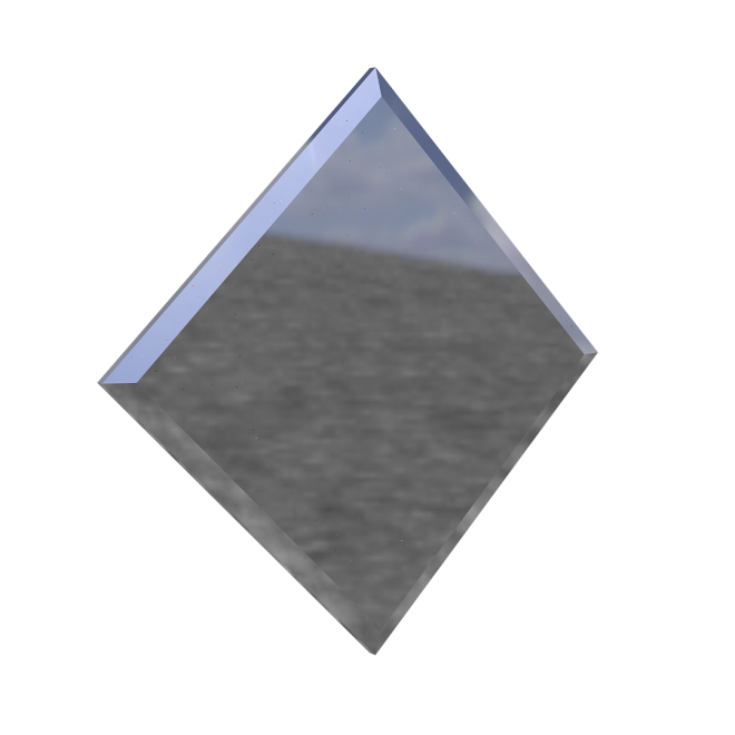 зеркальная плитка квадрат